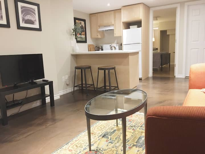 Lovely 1BR in Toronto's Coolest Hood -close to TTC
