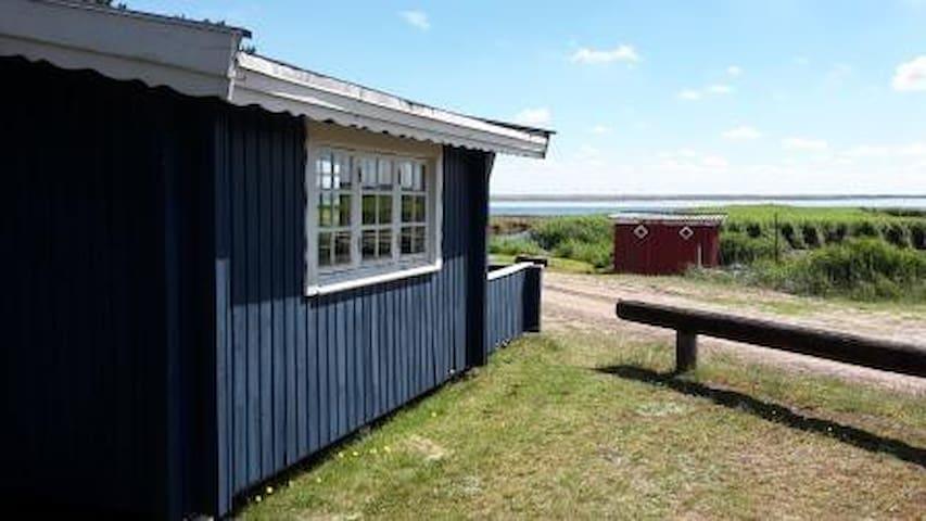 Primitive cabin overlooking Ringkøbing Fjord - Hvide Sande - Kulübe