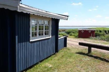 Primitive cabin overlooking Ringkøbing Fjord - Hvide Sande