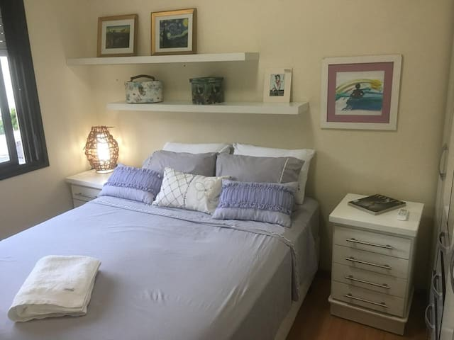 Nice bedroom in Rio Branco, with garage!