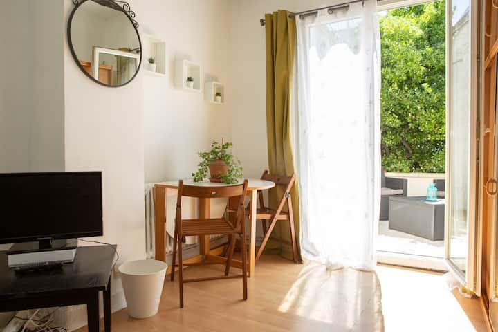 Chambre à 2 pas de Paris