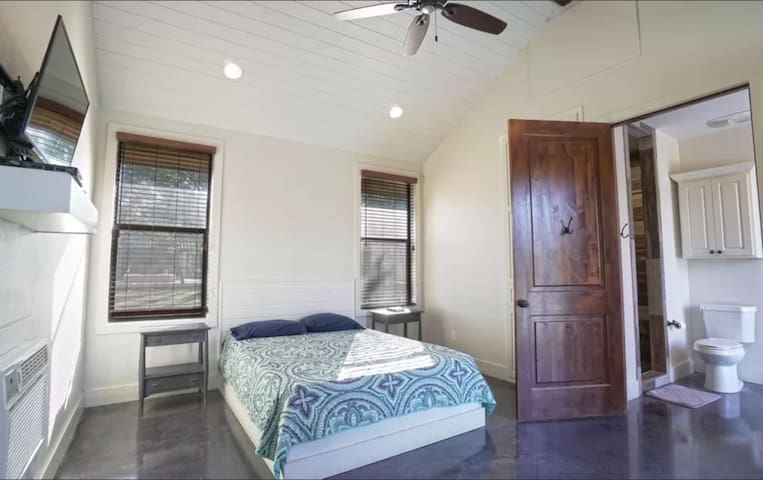 Room 5: Sleeps 2, with your own bathroom and closet space!