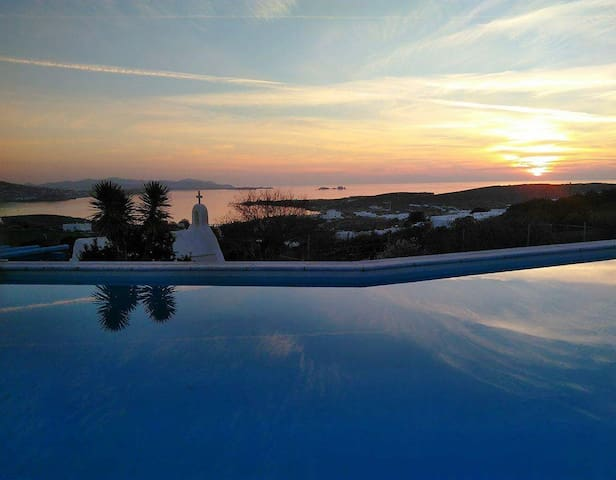 Aperado Paros House #3 +Swimmingpool+Tennis court