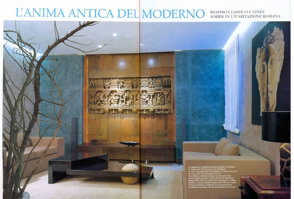 The apartment as reviewed on AD MAGAZINE