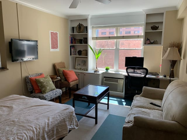 Centrally located Studio in the heart of DC