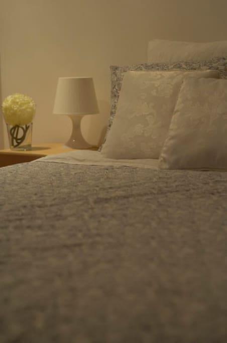 Detail bedroom