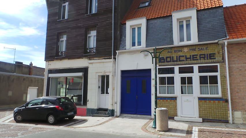 """""""Au bon pré salé"""" à Ambleteuse - Ambleteuse - บ้าน"""