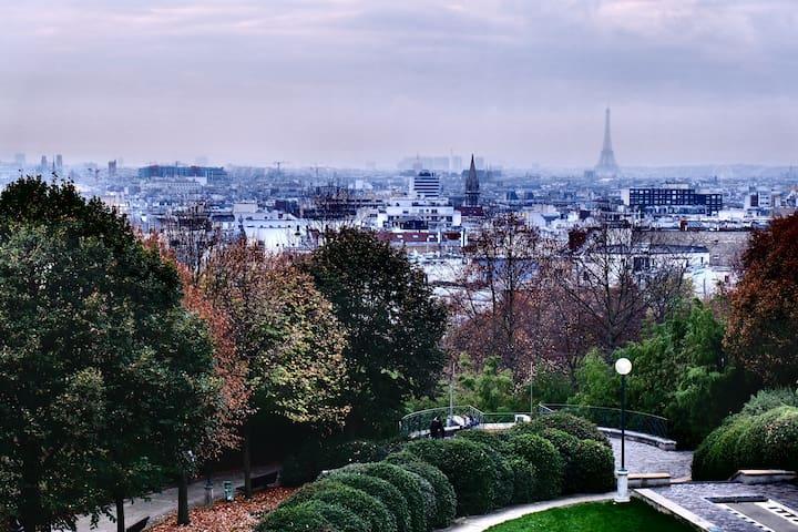 big private room in big shared flat - Pariisi - Huoneisto