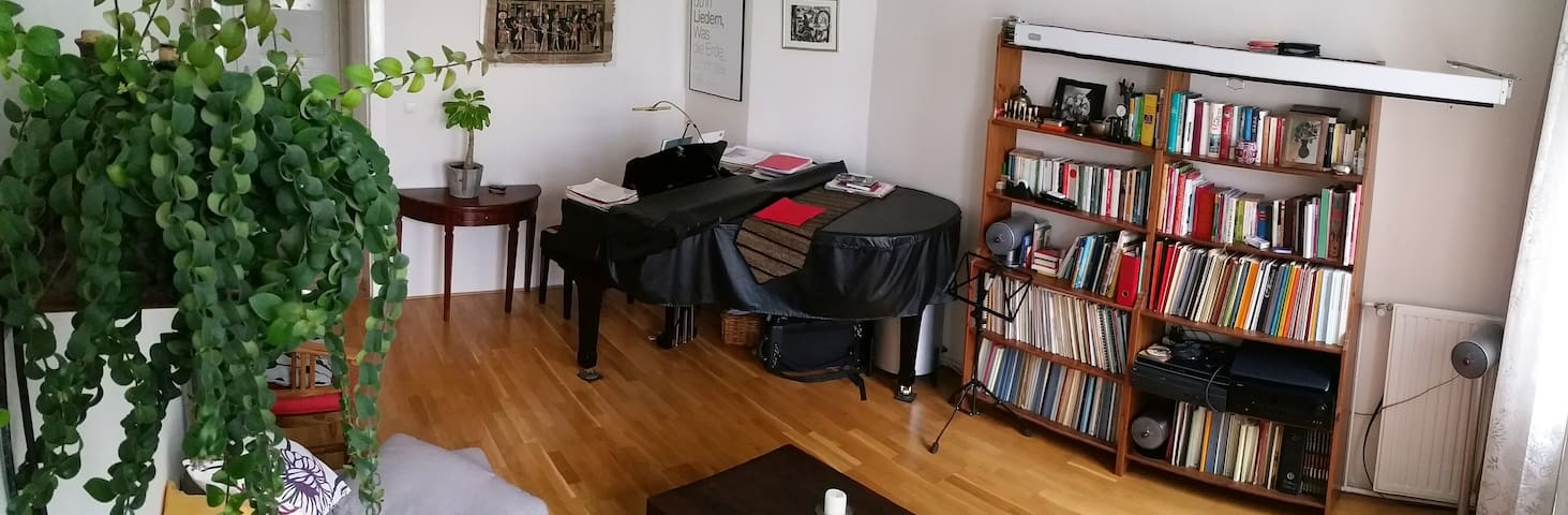 3,5 room apartment with piano - Berlin - Apartament