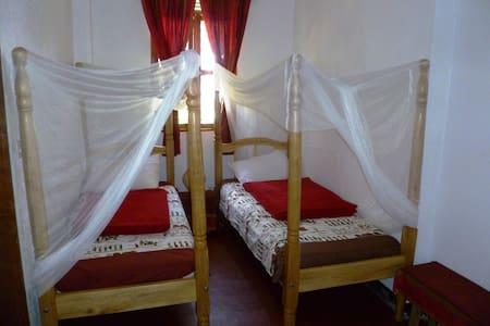 Your twin/triple bedroom