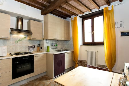 COSY APARTMENT AT CHIANTI' S DOOR - Meleto valdarno - Lägenhet