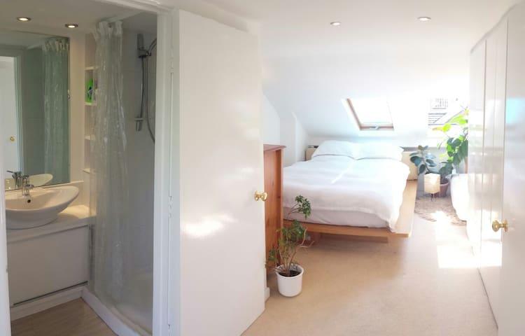Ensuite Kingsize River/balcony - Oxford - Haus