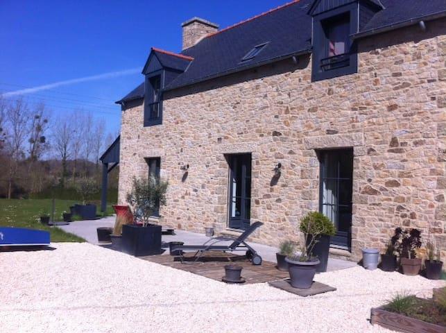 Maison de charme Rance / Dinard - Le Minihic-sur-Rance - Haus