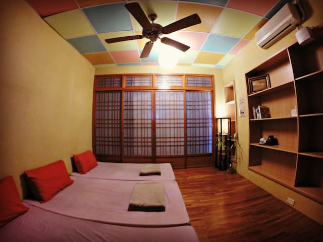 WaGaLiGong Surf Hostel Yakuza Room (private)日式和式客房