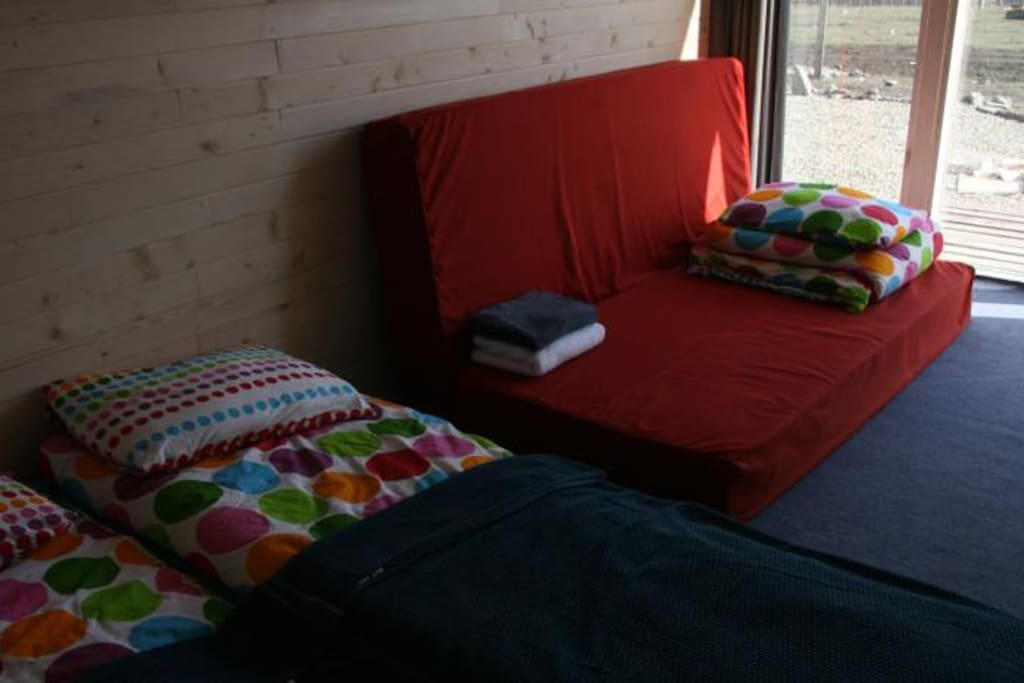 Four beds in every cottage!