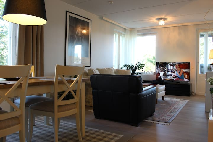 Two bedroom, balcony, sauna and parking place 76m2