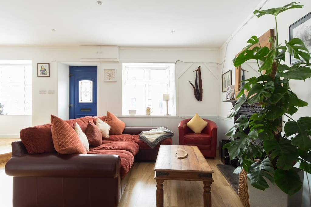 Make yourself at home comfy sitting room