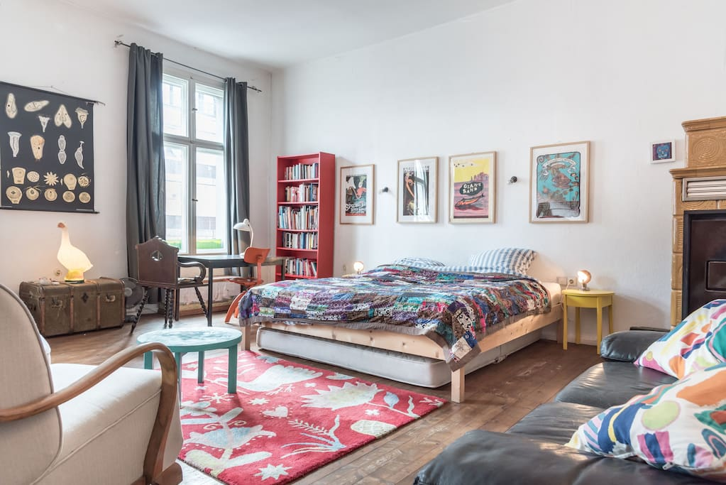 Big Room With View To Alexanderpltz Mitte Apartments