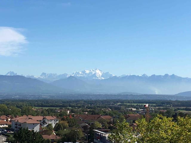 Joli T2 GEX proche Genève et station Mont-Jura