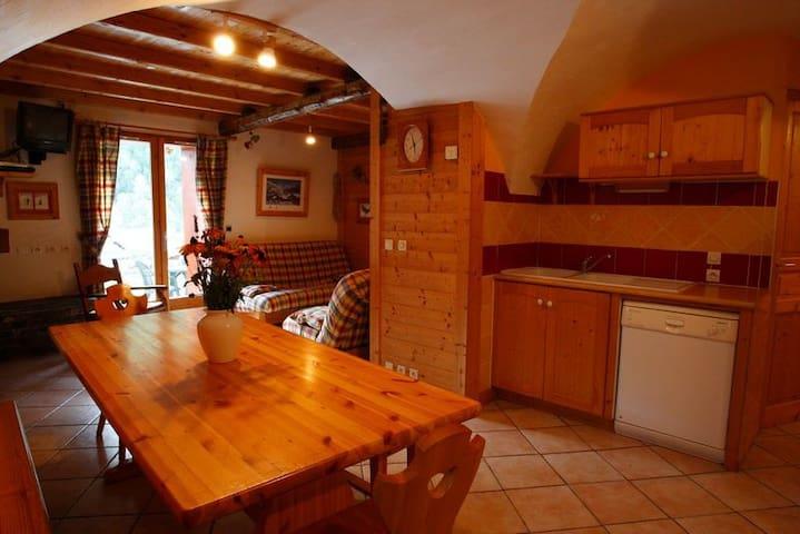 Appartement dans un chalet en montagne