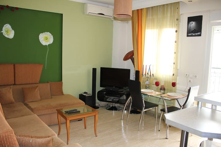 modern and comfortable - Evosmos - Apartamento