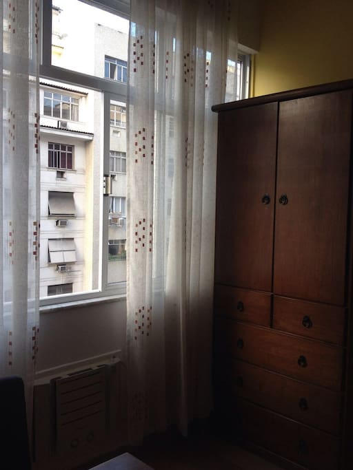 guest closet and window