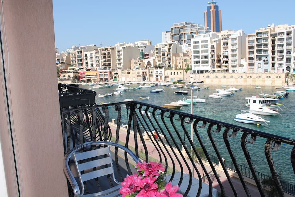 Amazing sea view from the balcony