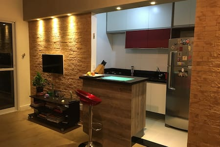 Cozy apartment near  to Transamerica Expo Center - São Paulo - Apartment