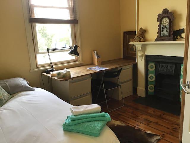 Bedroom 2: West Melbourne Terrace