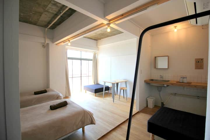 HYM -3B/ Good access to Naoshima! Only 2-3guest.