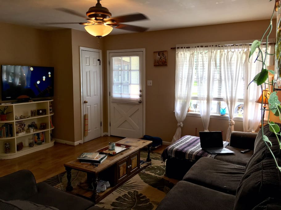 Shared main living space.