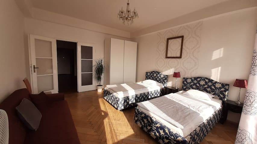 Comfortable 4-roomed apartment with