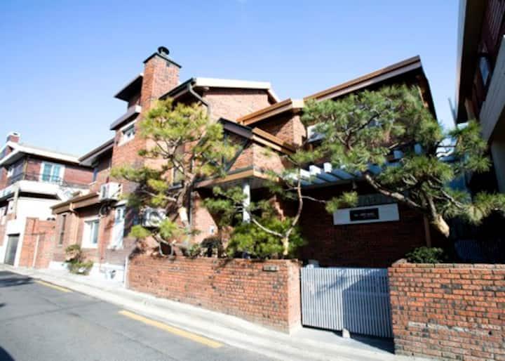 Seoul Residential Area Share Single House