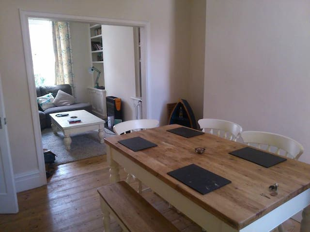 Bright Double Room in Pretty House - Manchester - House