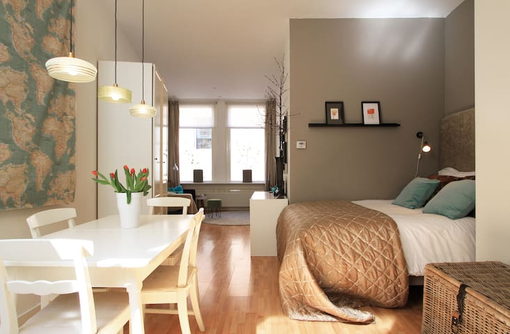 Lovely apt in city centre Haarlem - Haarlem - Apartment