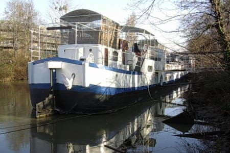 LOFT APARTMENT IN A BARGE (PARIS) - Issy-les-Moulineaux