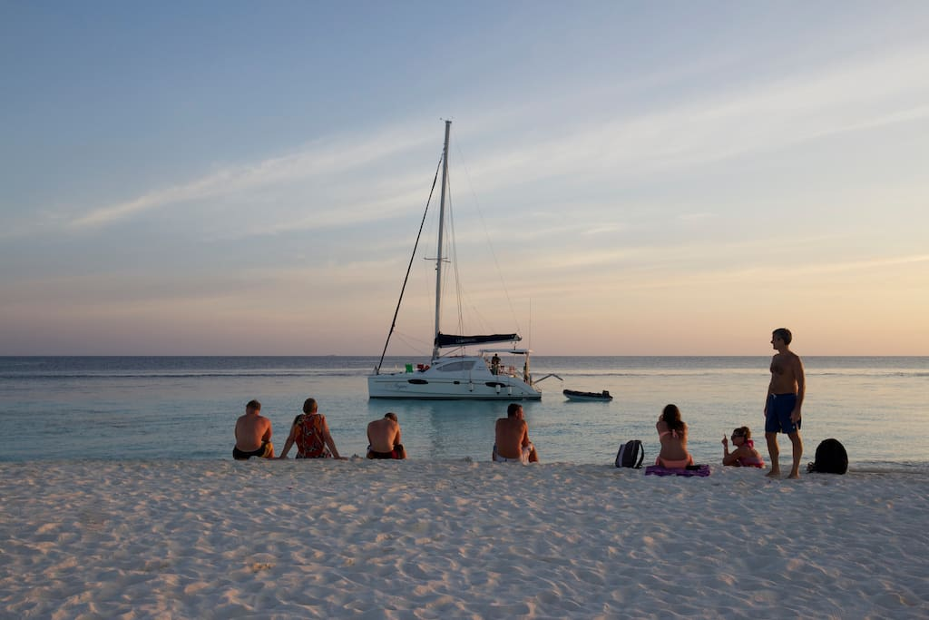 Sailing in the Maldives - an unforgettable experience!