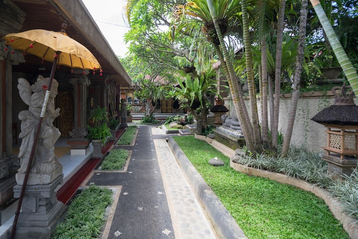 1Br In Balinese Home Environment Ubud
