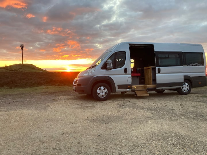 Campervan hire in Whitby