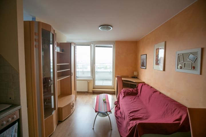 Flat with balcony and great view! - Wien - Apartment