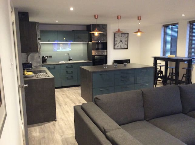 LARGE CONTEMPORARY 2 BED APARTMENT CENTRAL READING - Reading - Apartament
