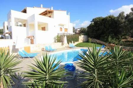 Exclusive Villa 2 mit Pool u.Meerbl - Rethymno/Roussospiti - Вилла
