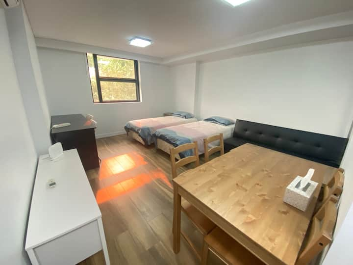 The whole 1 bedroom apartment for you by low price