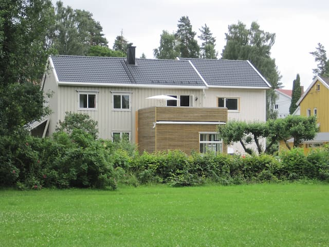Peaceful, quiet home near Oslo - Blommenholm - Talo