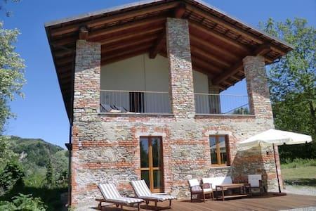 Casa al Tanaro - House with Pool and Terrace - Castellino Tanaro  - Talo