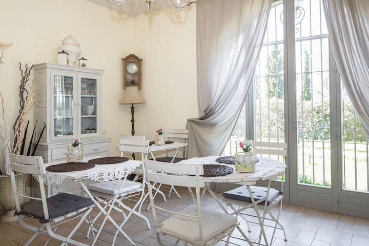 The Shabby style bed and breakfast -  Barberino Val d'Elsa - Szoba reggelivel