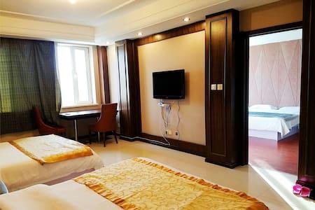 大连滨海避暑,可做饭的家庭6人套房 一室一厅家庭公寓 - Dalian - Apartmen