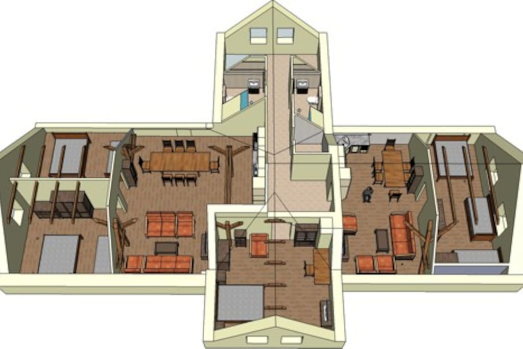 300 sqm space with privacy and comfort
