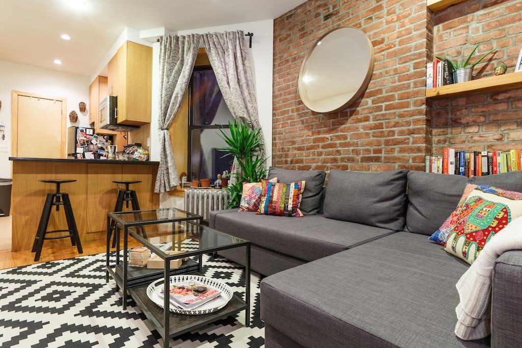 Warm 1bd eclectic fully updated apartamentos en alquiler en nueva york nueva york estados - Alquiler apartamentos nueva york ...