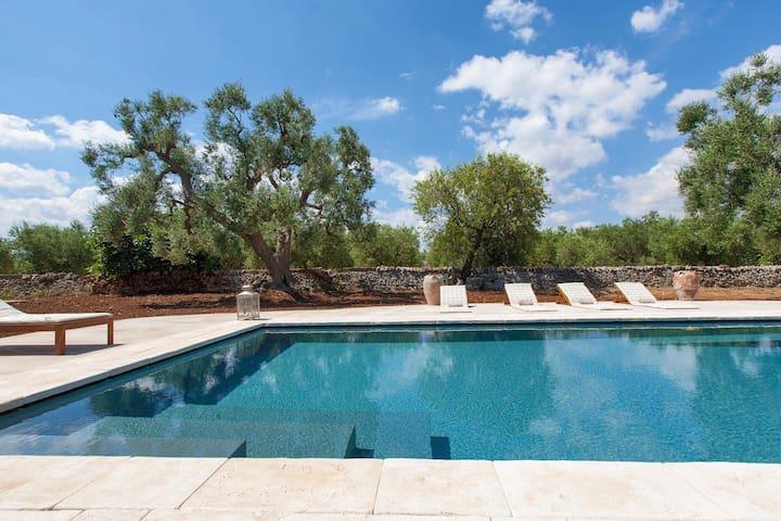 287 Villa with Pool in Fasano - Fasano - House